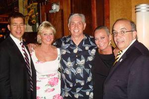 Blog 4 - Alexi Giannoulias, Kathy, Dough Buffone, me and John Colletti