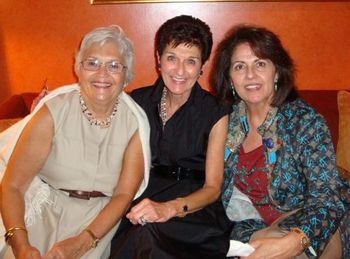 Blog 9 - Christine Cochanis and Kathy Stratton with friend