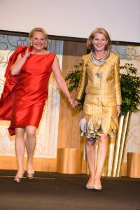 Blog 10 - Cheryl Bollinger with designer Elizabeth M