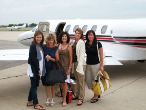Kathy Iatarola, Denise Favia, Judy Floodstrand, Christine Ott and Terry Ryan