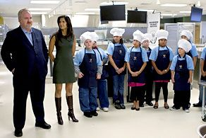 Blog 4 - Chef Art Smith, Padma Lakshmi and CT students