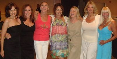 Blog 2 - Sylvie Garant, Patti Connors, me, Laura Lyons, Monica Tidwell, Janet Lupo and DeDe Lind