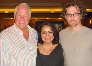 Blog 9 - Chuck with Playboy's Shanthi and Rob Wilson