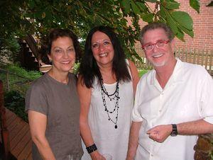 Blog 1 - Candace Corr, host Diane Whiteley and BJ Jones