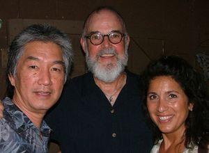 Blog 3 - Paul Nagano, host Sandy Whitely and NBC anchor Kim Vatis