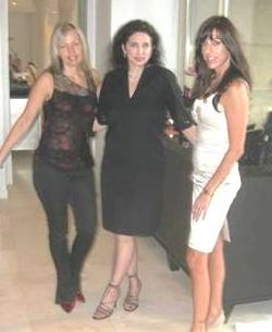 Blog 3 - Hostess Lydia Fisher Alouf, Christina Ghilberti and Dana Capone