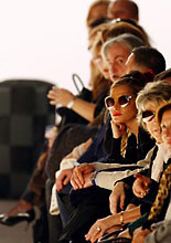 Last graf image - fashion week front row