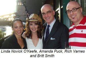 Blog 1 - Linda Novick O'Keefe, Amanda Puck, Rich Varnes and Britt Smith
