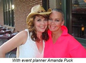 Blog 3 - With event planner Amanda Puck