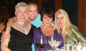 Blog 2 - Rhonda, me, Nadine Epstein and Jannie Pearlman