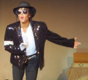 Blog 3 - Winner Armani as Michael Jackson
