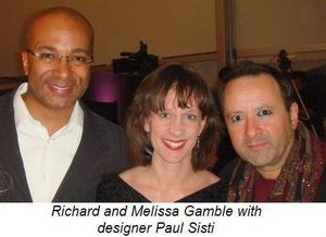 Blog 5 - Richard and Melissa Gamble and designer Paul Sisti