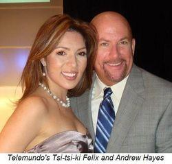 Blog 7 - Telemundo's Tsi-tsi-ki Felix and Andrew Hayes
