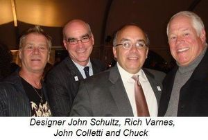 Blog 10 - Designer John Schultz, Rich Varnes, John Colletti and Chuck