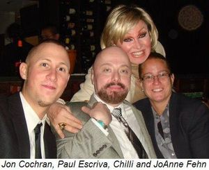 Blog 4 - Jon Cochran, Paul Escriva, Chilli and JoAnne Fehn