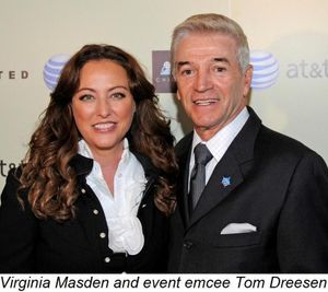 Blog 2 - Virginia Madsen and event emcee Tom Dreesen