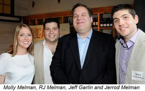 Blog 3 - Molly Melman, RJ Melman, Jeff Garlin and Jerrod Melman