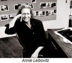 Self portrait of Annie Leibovitz