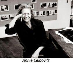 Self portrait of Annie Leibovitz