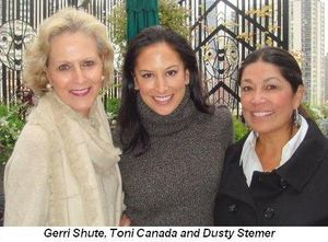 Blog 2 - Gerri Shute, Toni Canada and Dusty Stemer