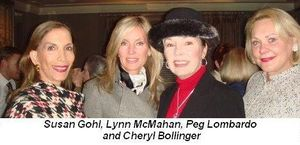 Blog 5 - Susan Gohl, Lynn McMahan, Peg Lombardo and Cheryl Bollinger