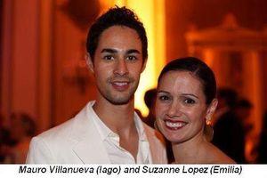Blog 3 - Mauro Villanueva aka Iago and Suzanne Lopez aka Emilia