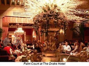 Blog 1 - Palm Court at the Drake Hotel