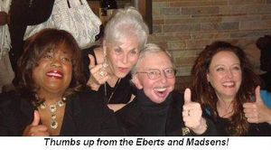 Thumbs Up from the Eberts
