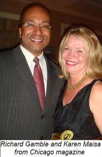 Blog 6 - Richard Gamble and Karen Maisa from Chicago Magazine