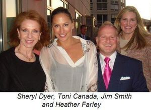 Blog 8 - Sheryl Dyer, Toni Canada, Jim Smith and Heather Farley