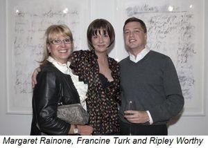 Blog 3 - Margaret Rainone, Francine Turk and Ripley Worthy