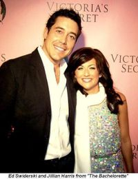 Blog 14 - The Bachelorette's Ed Swiderski and Jillian Harris