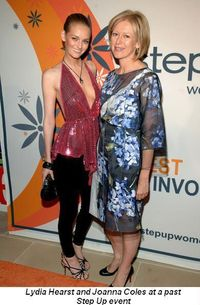 Lydia Hearst and Joanna Coles