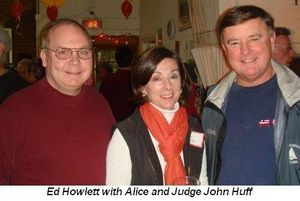 Blog 3 - Ed Howlett, Alice and Judge John Huff