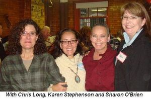 Blog 6 - with Chris Long, Karen Stephenson and Sharon O'Brien