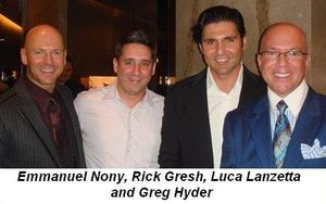 Blog 1 - Emmanuel Nony, Rick Gresh, Luca Lanzetta and Greg Hyder