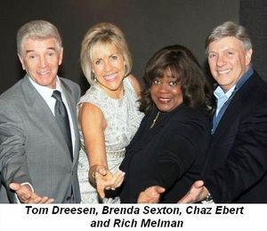 Blog 1 - Tom Dreesen, Brenda Sexton, Chaz Ebert and Rich Melman