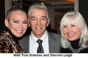 Blog 5 - With Tom Dreesen and Sherren Leigh