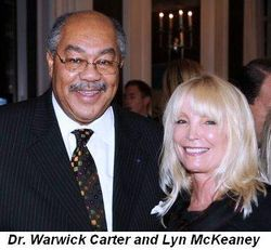 Blog 7 - Dr. Warwick Carter and Lyn McKeaney