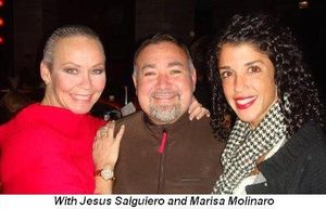 Blog 7 - With Jesus Salguiero and Marisa Molinaro