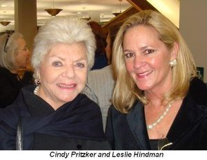 Blog 1 - Cindy Pritzker and Leslie Hindman