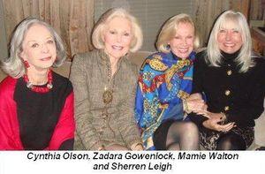 Blog 3 - Cynthia Olson, Zarada Gowenlock, Mamie Walton and Sherren Leigh