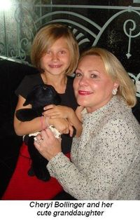 Blog 7 - Cheryl Bollinger and her cute granddaughter