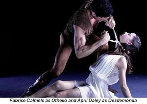 Blog 2 - Fabrice Calmels and April Daley