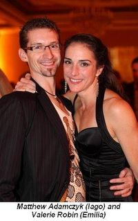 Blog 4 - Matthew Adamczyk aka Iago and Valerie Robin aka Emilia