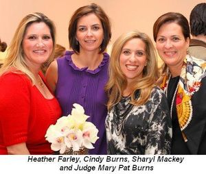 Blog 7 - Heather Farley, Cindy Burns, Sharyl Mackey and Judge Mary Pat Burns