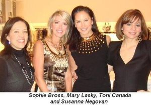 Blog 2 - Sophie Bross, Mary Lasky, Toni Canada and Susanna Negovan