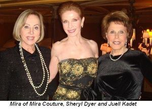Blog 3 - Mira of Mira Couture, Sheryl Dyer and Juell Kadet