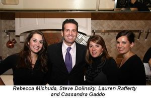 "Blog 1 - Rebecca Michuda, ""Hungry Hound's"" Steve Dolinsky, Lauren Rafferty and Cassandra Gaddo"