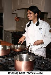 Blog 3 - Winning Chef Radhika Desai